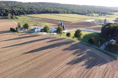 Drone over Morgantown Farm to Ms. Stolz of Philadelphia (028)