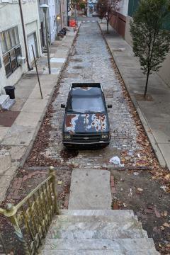 Truck in Bonsall St to Mr. Wachlin of Philadelphia (052)