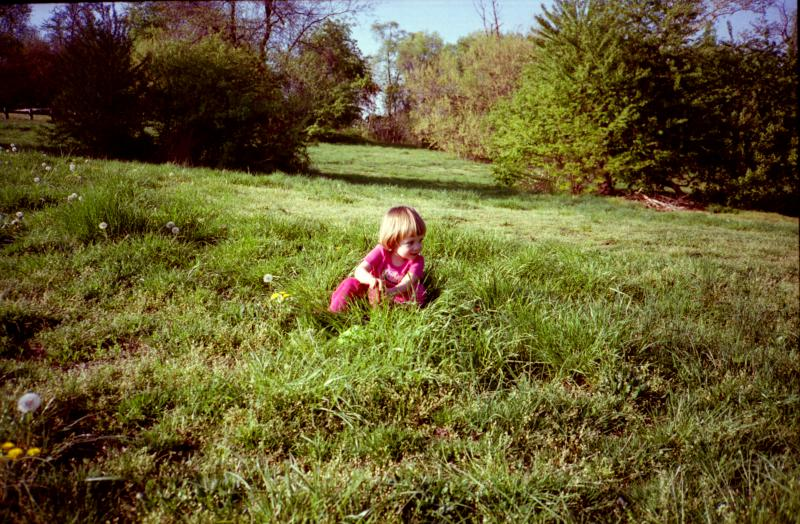 Antje in the Grass