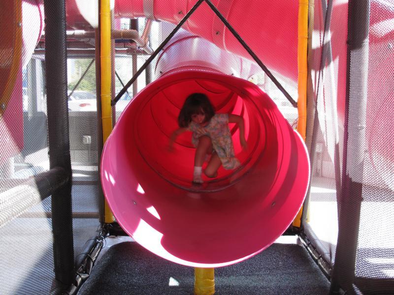 Antje in the Slide