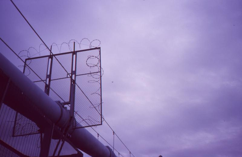 barbed wire plane