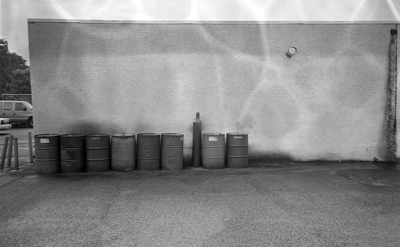 barrels wall weirdness