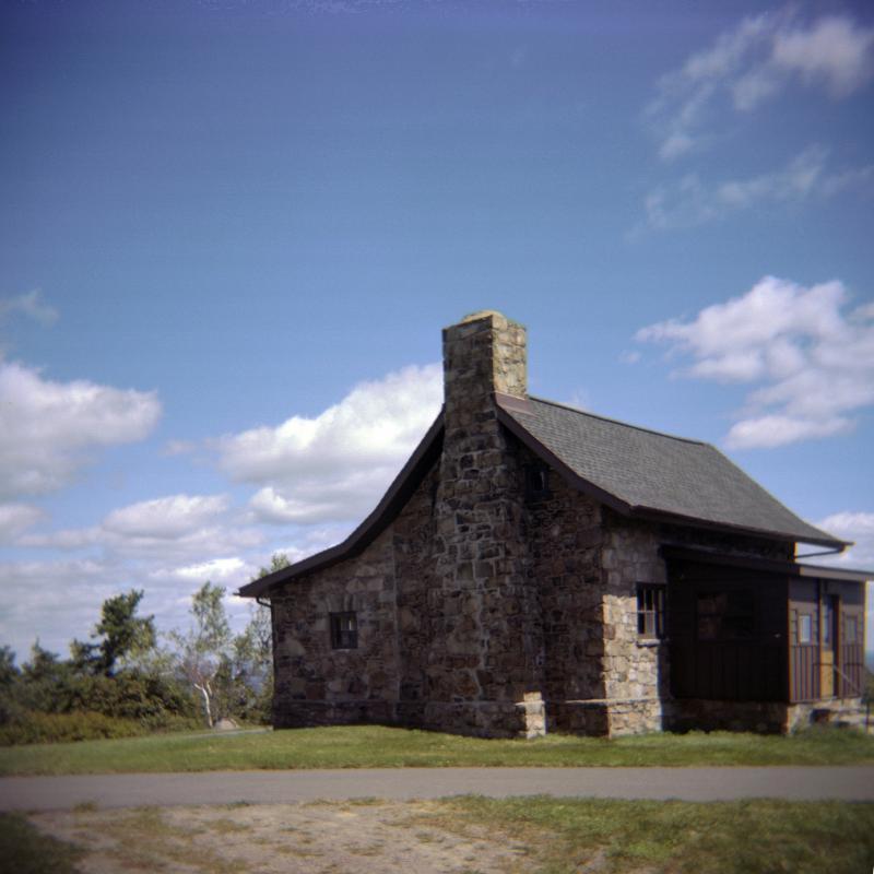 big pocono stone house