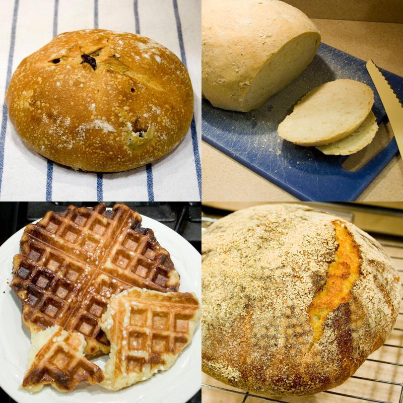 Bread-a-Day 116-119