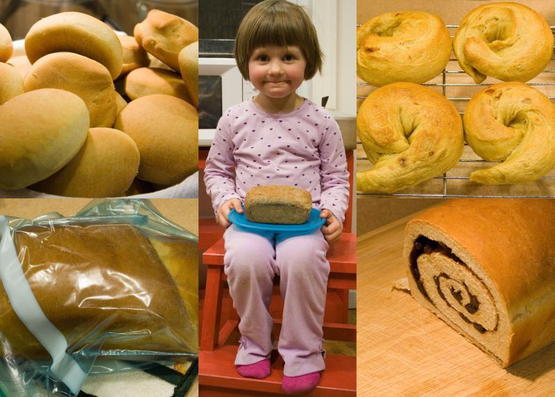 Bread-a-Day 123-127