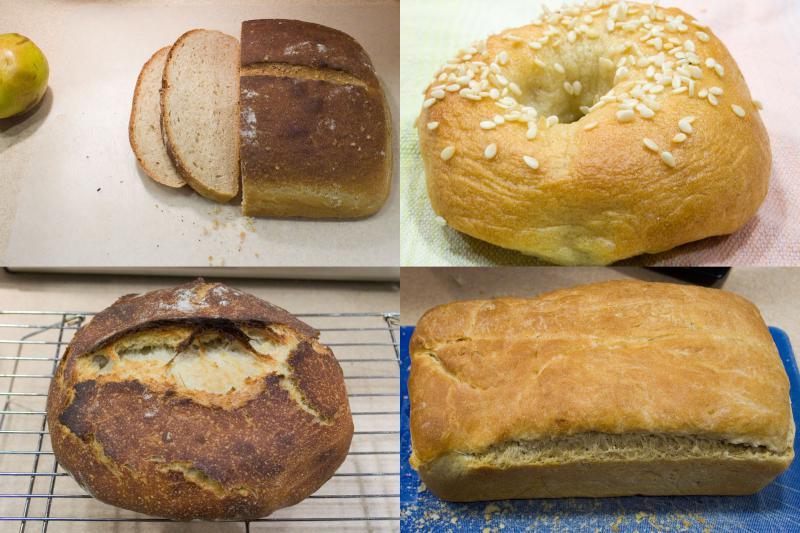 Bread-a-Day 128-131