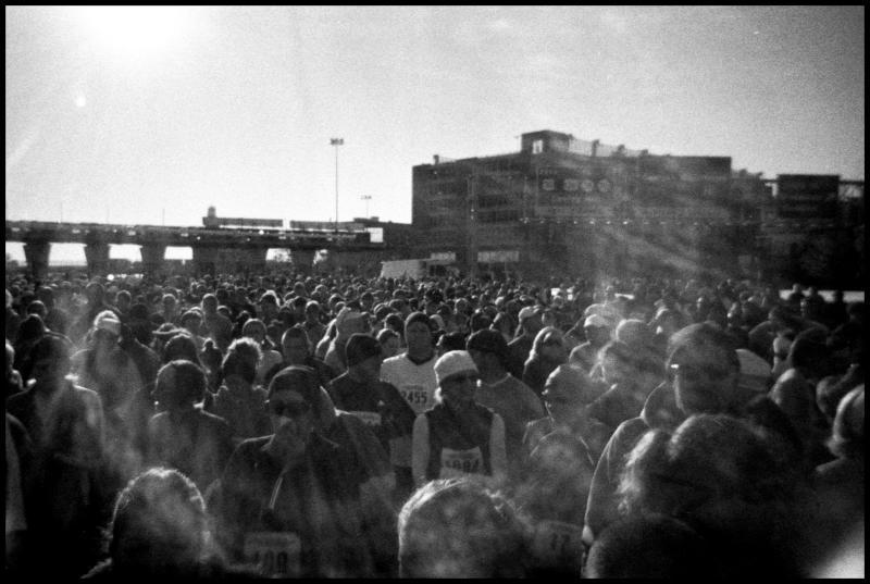 Bridge Run Crowd