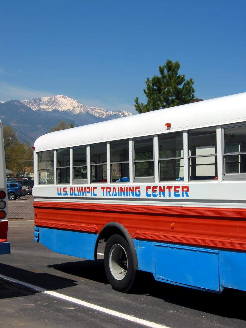 Bus  Pikes Peak