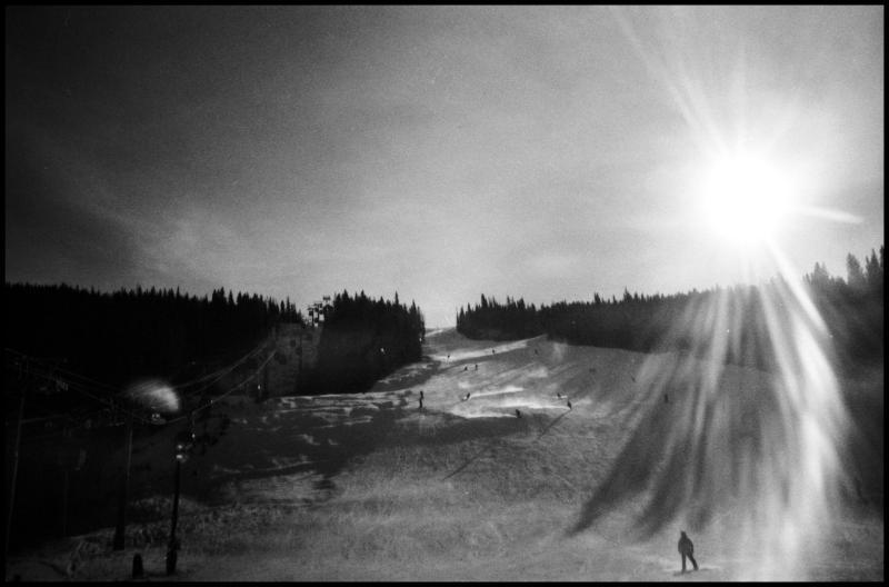 colorado - breckenridge skiers
