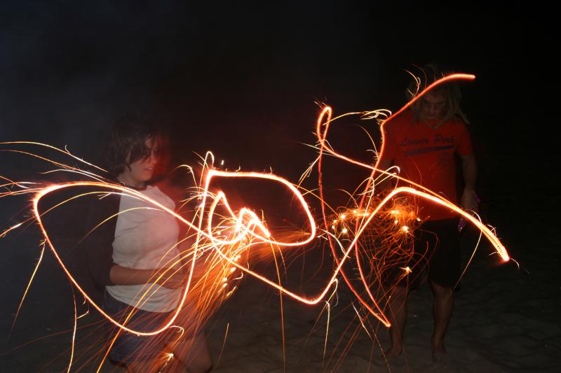 Dancing with Sparklers 2