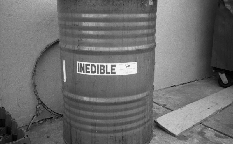 inedible