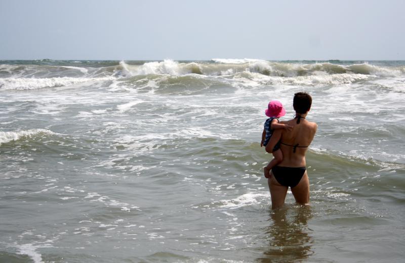 Kaela  Antje in the Waves