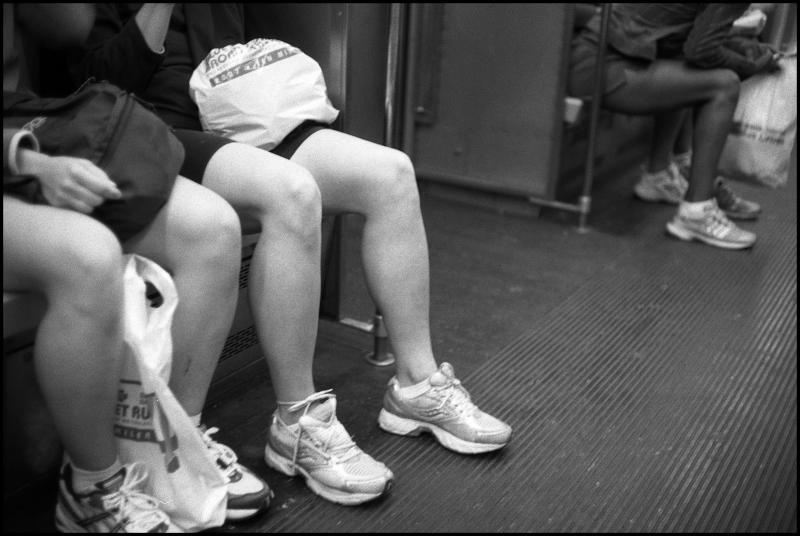 kaela  wendy on the subway