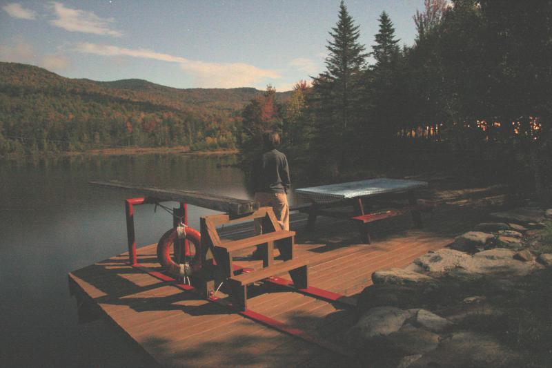 Kaela on the dock