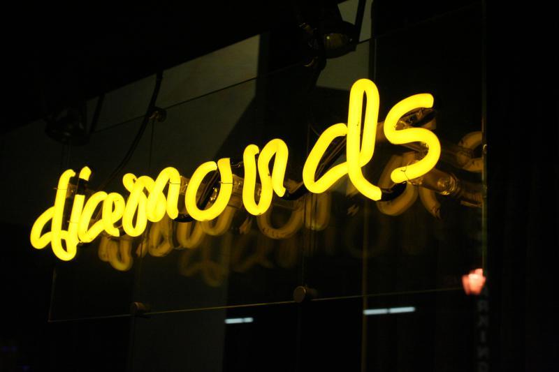 neon diamonds