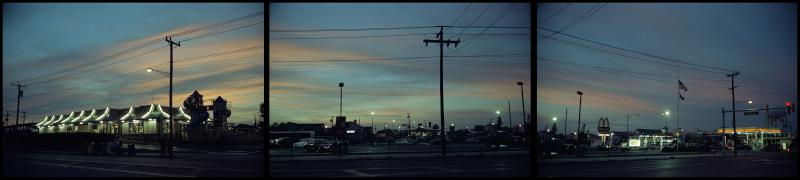 Ocean City Sunset with McDonalds