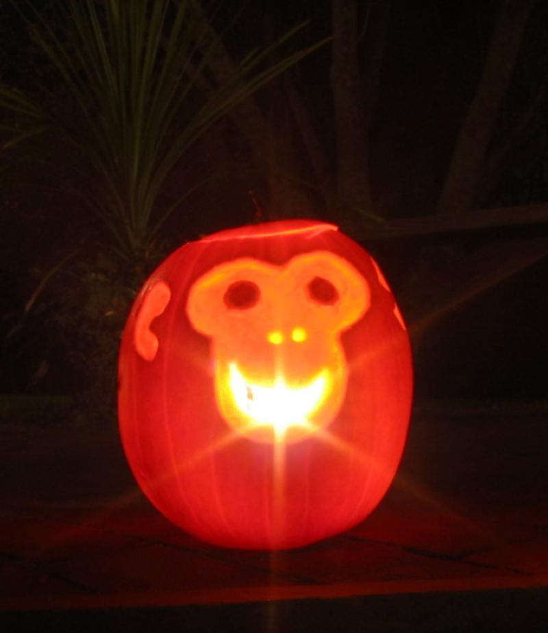 Pumpkins - Monkey