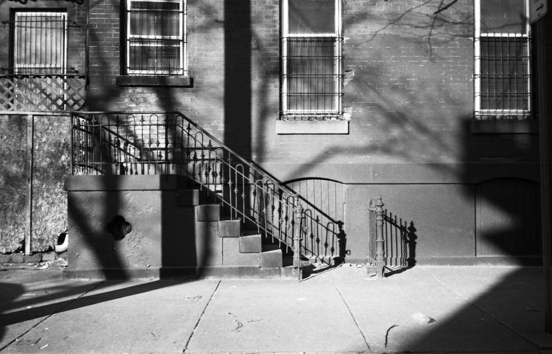 shadows  stairs