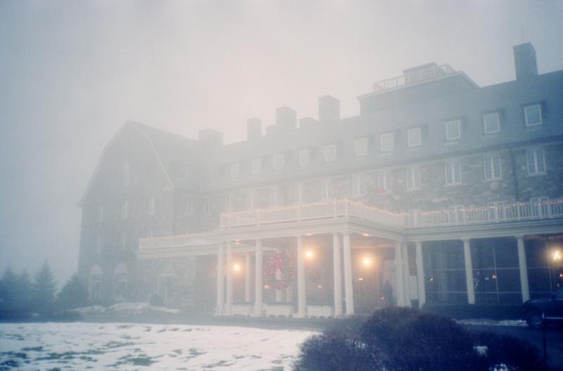 Skytop in the fog