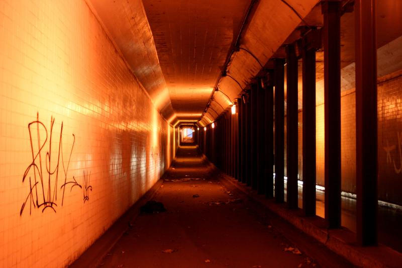 Spring Garden Street Trolley Tunnel