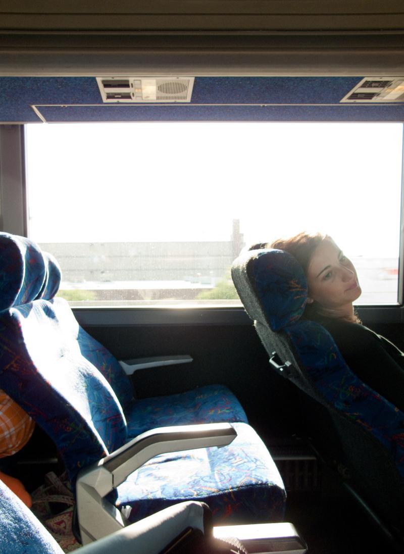 stranger on the bus