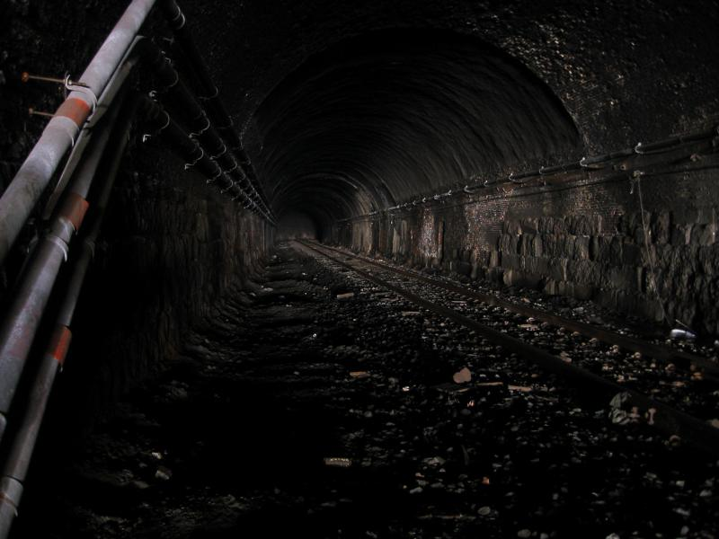 Tunnel Going Under Eakins Oval